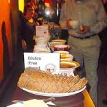 Plates of Gluten Free Bread ready for event patrons